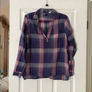 Urban outfitters quarter button top
